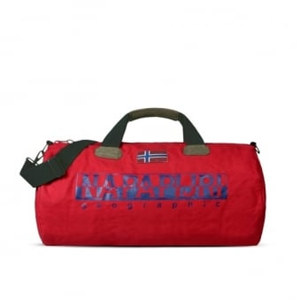 Napapijri Bearing A Red Weekend Bag N0Y82B094