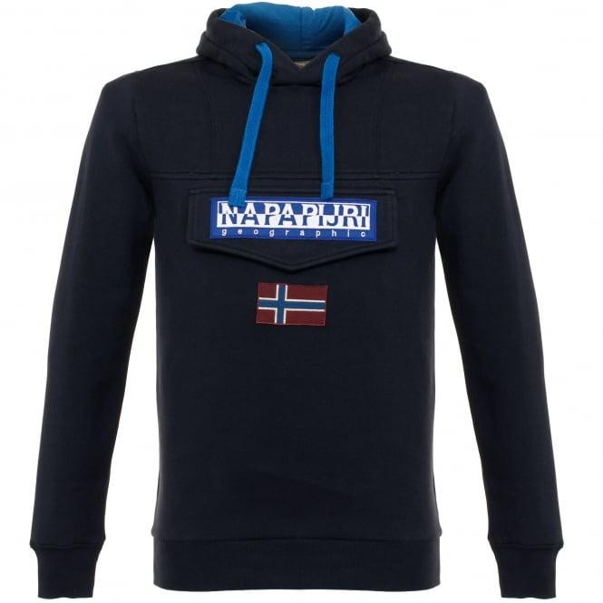 Napapijri Burgee Blue Sweatshirt N0YG2C