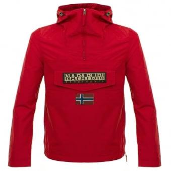 Napapijri Rainforest Red Slim Jacket N0Y9SY094