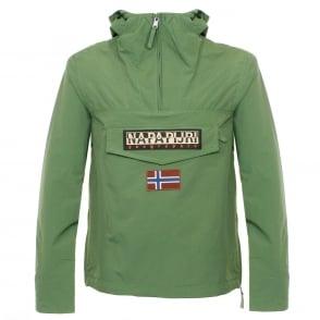 Napapijri Rainforest Summer Green Cagoule Jacket N0YH0BY49