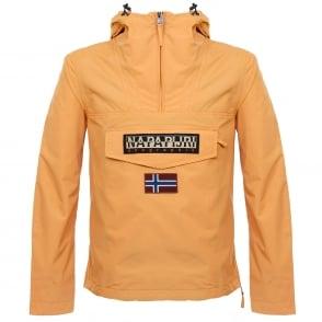 Napapijri Rainforest Summer Orange Cagoule Jacket N0YH0BY49