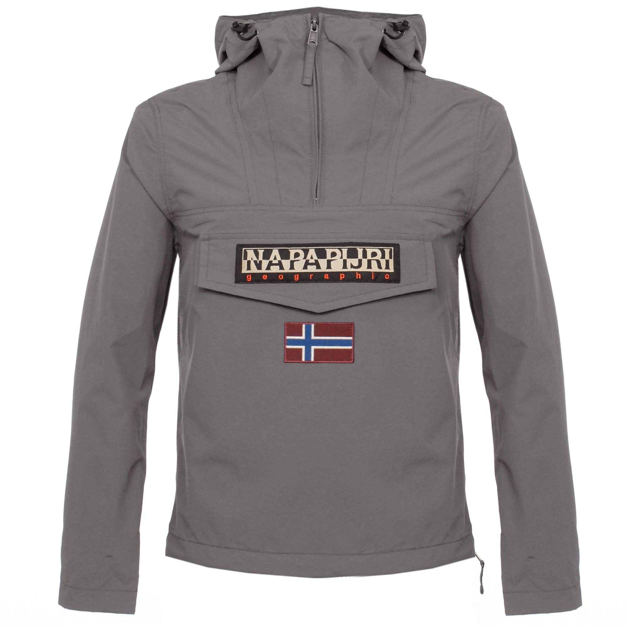 napapijri jacket grey