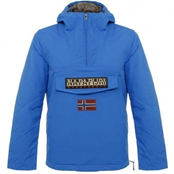 Napapijri Rainforest Winter A Royal Blue Jacket N0YFRJB33