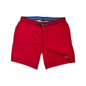 Napapijri Villa Solid Romantic Red Shorts