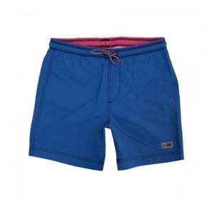 Napapijri Villa Solid Royal Blue Shorts