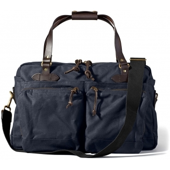 Navy 47-Hour Tin Cloth Duffle Bag