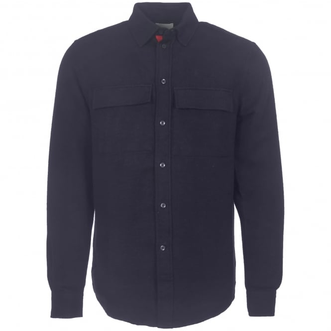 Wood Wood Navy Barking Shirt