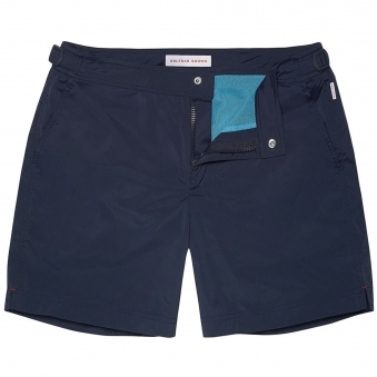Navy Bulldog Sport Swimming Shorts