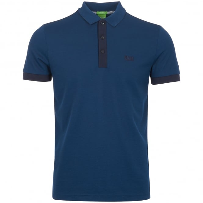 Boss Green Navy C-Vito Polo Shirt