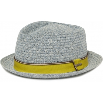 Navy Collano Diamond Player Toyo Straw Hat