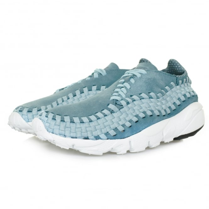 Nike Air Footscape Woven NM Smokey Blue Shoe 875797 002