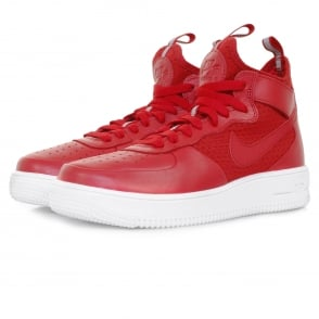 Nike Air Force 1 Ultraforce Mid Gym Red Shoe 864014 600