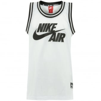 Nike Air Logo White Basketball Jersey 834135-100