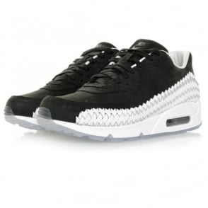 Nike Air Max 90 Woven Black Shoe 833129 003