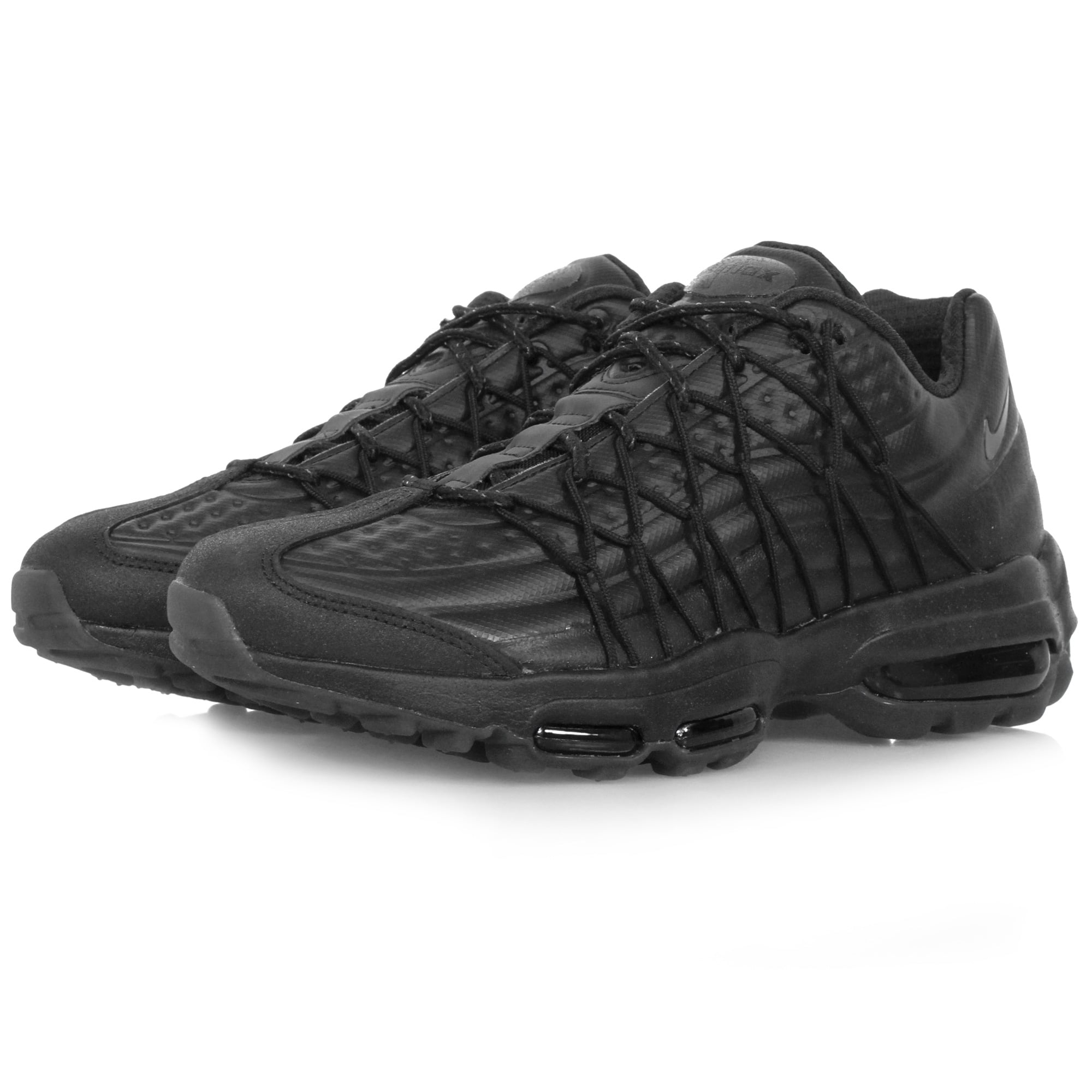 nike footwear nike air max 95 ultra se premium black shoe. Black Bedroom Furniture Sets. Home Design Ideas