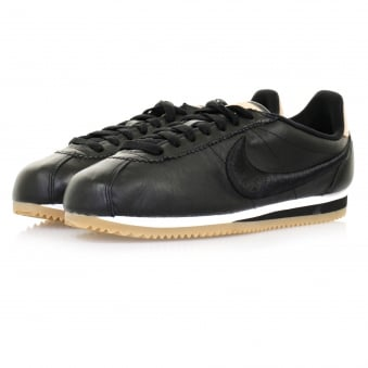 Nike Classic Cortez Leather Black Shoe 861677 004
