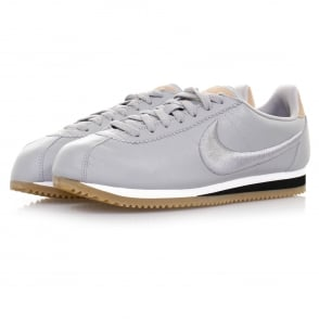 Nike Classic Cortez Leather Wolf Grey Shoe 861677 003