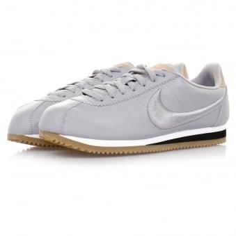 Nike Classic Cortez Leather Wolf Grey Shoe 861677 003