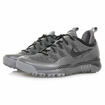 Nike Lupinek Flyknit Low Dark Grey Sail Shoe 882685 001