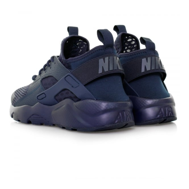 Nike Air Huarache Run Ultra Breathe Midnight Navy Shoes 833147400