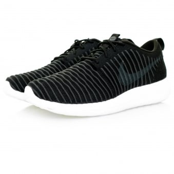 Nike Roshe Two Flyknit Black Shoe 844833 001