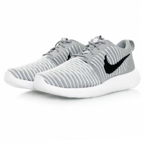 Nike Roshe Two Flyknit Wolf Grey Shoe 844833 002