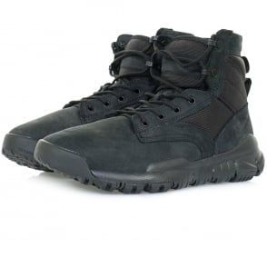 "Nike SFB 6"" NSW Black Leather Boot 862507001"
