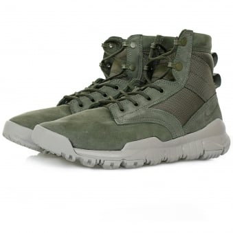 "Nike SFB 6"" NSW Cargo Khaki Leather Boot 862507300"