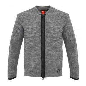 Nike Sportswear Tech Knit Grey Jacket 810558 065