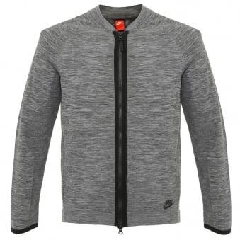 Nike Sportswear Tech Knit Grey Jacket 810558 065