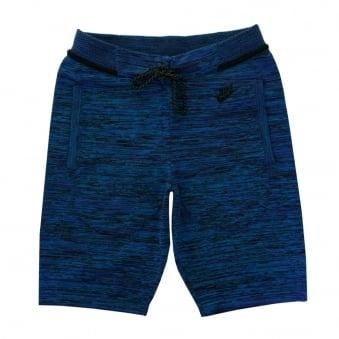 Nike Tech Knit Blue Shorts 728675439