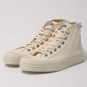 Novesta Star Dribble UW Beige Ecru Hi Top Shoe N672041
