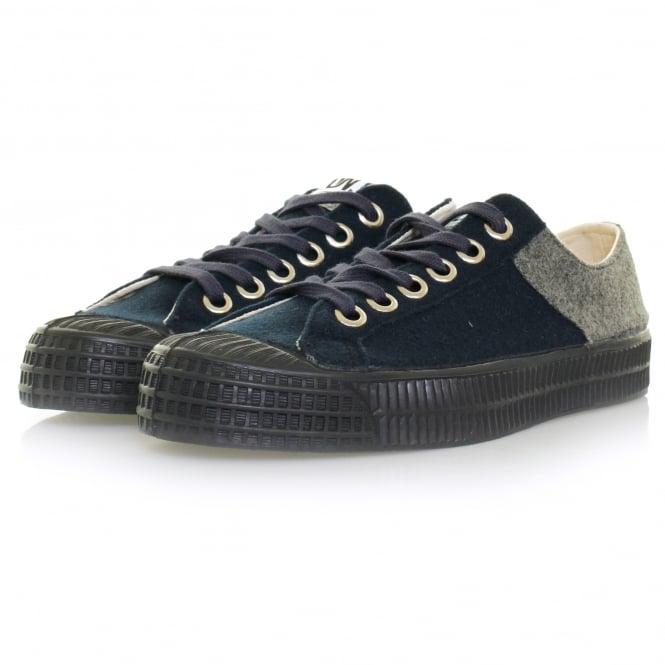 Novesta Footwear Novesta X Universal Works Star Master Wool Grey Navy Shoe 729337