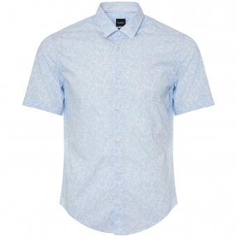 Open Blue Brodi Short Sleeve Shirt