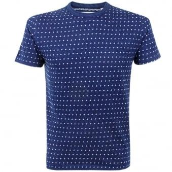 Our Legacy Indigo Jacquard Perfect T-Shirt 1157PTBJD