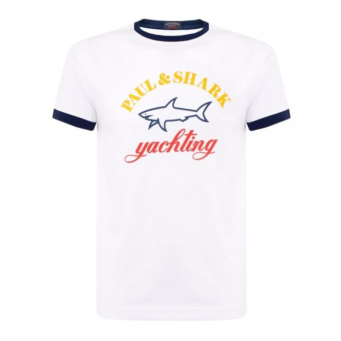 Paul and Shark Yachting Paul and Shark White T-Shirt