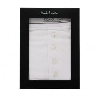 Paul Smith Four Button White Trunk AMXA-460B-U221