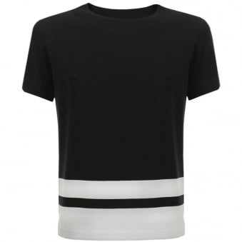 Paul Smith Pique Block Stripe T-Shirt JNFJ-410P-B47MIX