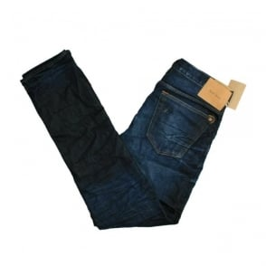 Paul Smith Slim Tapered Vintage Blue Denim Jeans JHCJ 301M 102