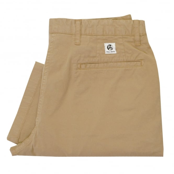 PS By Paul Smith Paul Smith Twill Camel Chino Trousers PSXD-933P-319