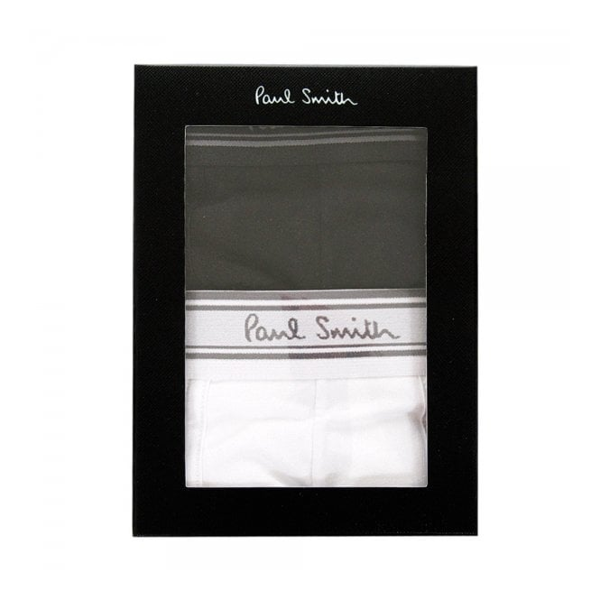 Paul Smith Accessories Paul Smith White and black Men Trunk Pack AMXA-2PCK-2PL