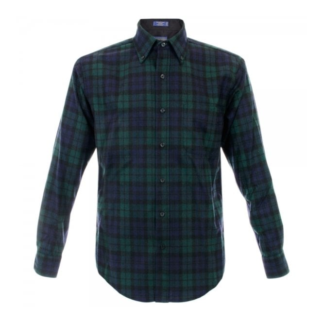 Pendleton Woolen Mills Pendleton Blackwatch Tartan Wool Shirt RN29685