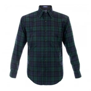 Pendleton Blackwatch Tartan Wool Shirt RN29685