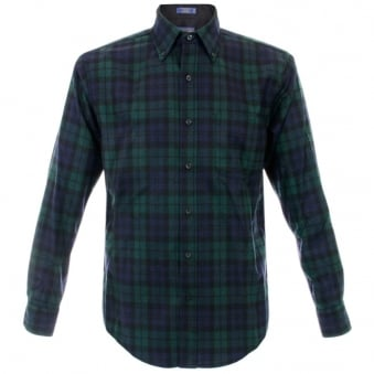 Pendleton Blackwatch Tartan Wool Shirt RN29685