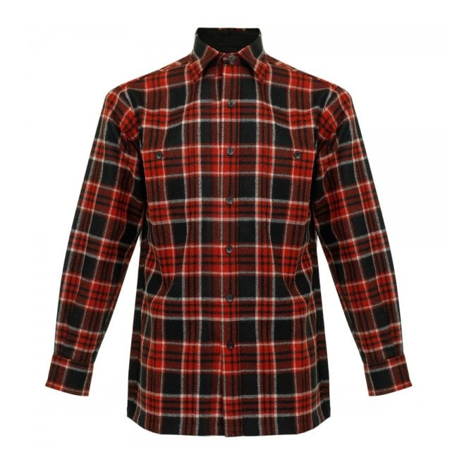 Pendleton Woolen Mills Pendleton Game Day Red Wool Check Shirt AA086-31766-R
