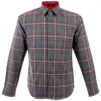 Pendleton Grant Grey Wool Check Shirt IA210