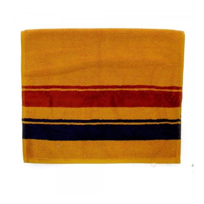 Pendleton Woolen Mills Stone Park Marigold Yellow Hand Towel B2115093