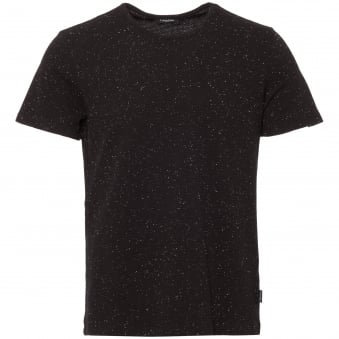Perfect Black Janeps Heathered Jersey T-Shirt
