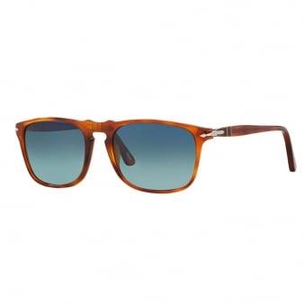 Persol PO3059S Polarized Brown Sunglasses 0PO3059S