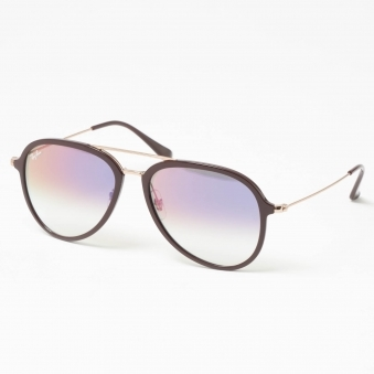 Plum RB4298 Sunglasses - Violet Gradient Lenses